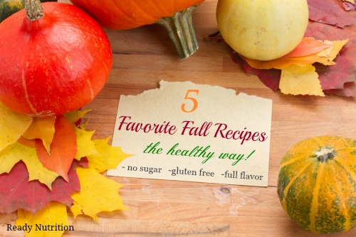 favorite fall recipes made healthy