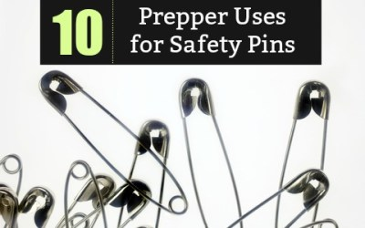 10 Prepper Uses for Safety Pins