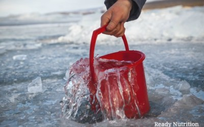 The Easiest Way To Create an Emergency Water Supply That Lasts All Winter
