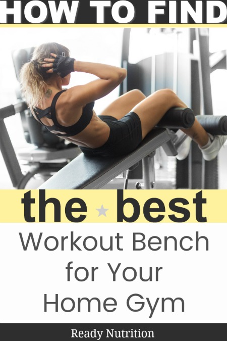 A good bench for a gym you set up at home can really be the cornerstone of your workout program. #ReadyNutrition #PhysicalWellness