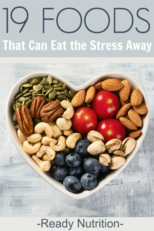 Stress eating is a natural reaction, but if you replace your junk food with these healthy foods, you can literally eat the stress away!