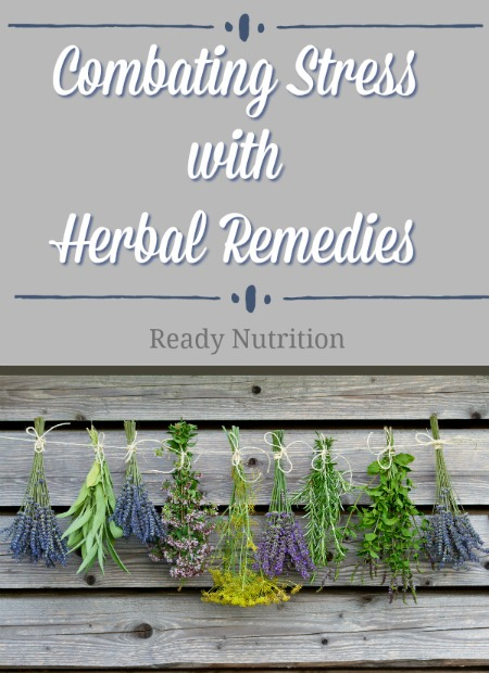 Herbal remedies can be your greatest ally when stress is overwhelming you.
