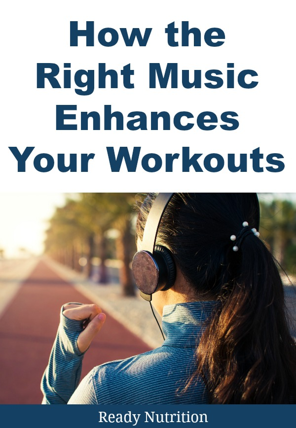 "Music has a physiological effect that you need to know about. When you listen to music that is pleasing to your ears, it stimulates the production of Dopamine, and ""synchronizes"" the brain within the rhythm, and helps you to perform repetitive motions (such as push-ups, or sets of bench presses) with more fluidity, increased smoothness. #ReadyNutrition #FitnessGoals #PhysicalWellness"