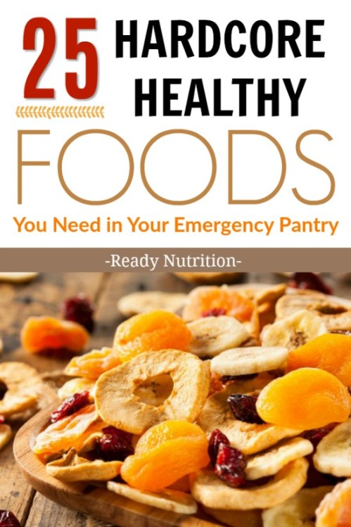 Here's how to build an emergency pantry that is packed with nutritious, shelf-stable foods that will help your family keep energy levels up.