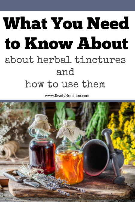 If you are looking for an easy way to reap the benefits of medicinal plants, take a look at herbal tinctures. #ReadyNutrition
