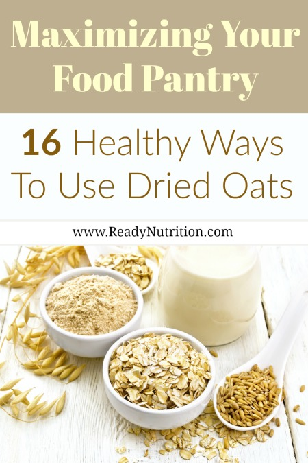 They are commonly used in oatmeal, baked goods, and granola, but did you know oats can be used for everything from homemade non-dairy milk to pizza crusts to soothing itchy skin? #ReadyNutrition