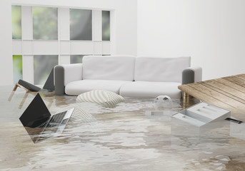 """Unprecedented"" Flood Season: How To Know If Your Home Has Water Damage"
