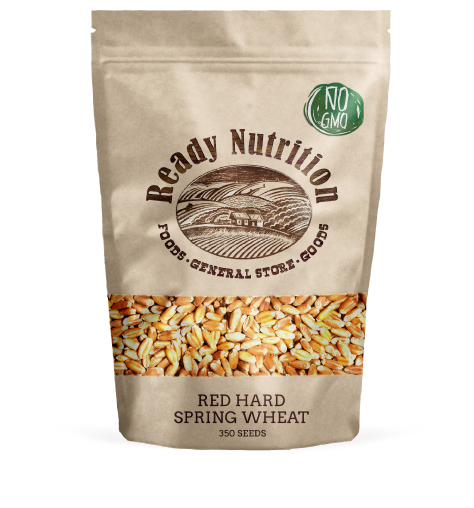 Hard Red Spring Wheat Seeds By Ready Nutrition