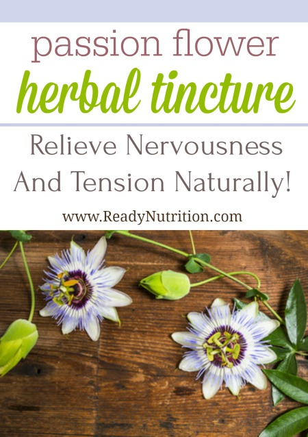 The passionflower (Passiflora incarnata) herb is incredibly beautiful and has been used to naturally treat ailments from gastrointestinal problem to cuts and bruises. But herbal tinctures made from the gorgeous flower are highly useful for those who often carry a little extra stress and anxiety.