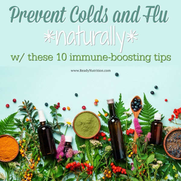 Help give your body the edge it needs to fight off illness by trying these 10 immune-boosting tips. #ReadyNutrition