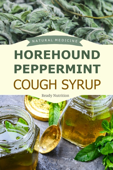 Soothe Coughs Naturally With Horehound Peppermint Cough