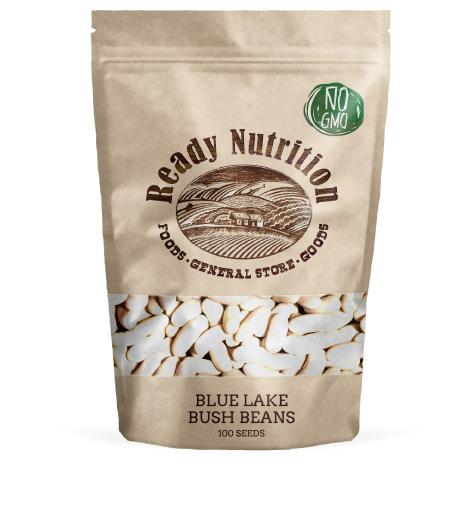 Blue Lake Bush Beans by Ready Nutrition