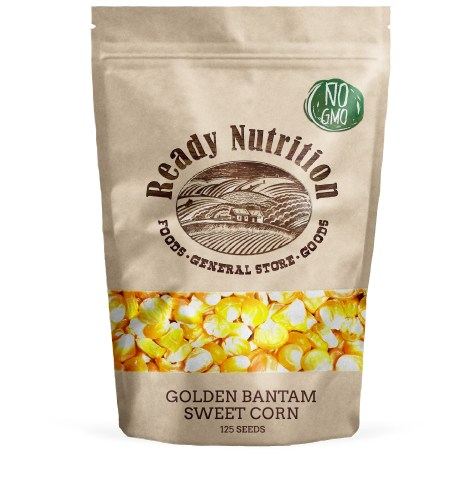 Golden Bantam Corn by Ready Nutrition