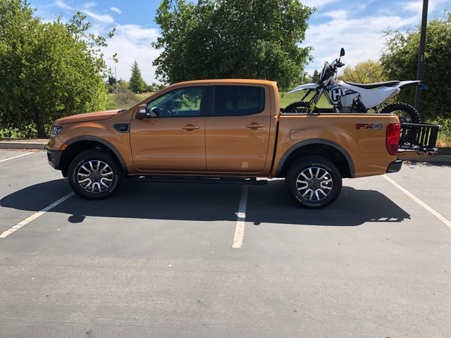 Side View, 2019 Ranger