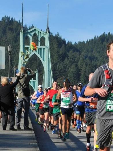 Portland Marathon is at sea level