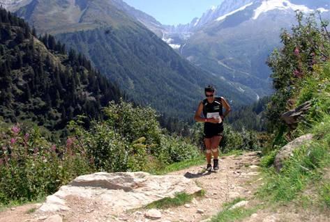 Ultra trail running Mont Blanc