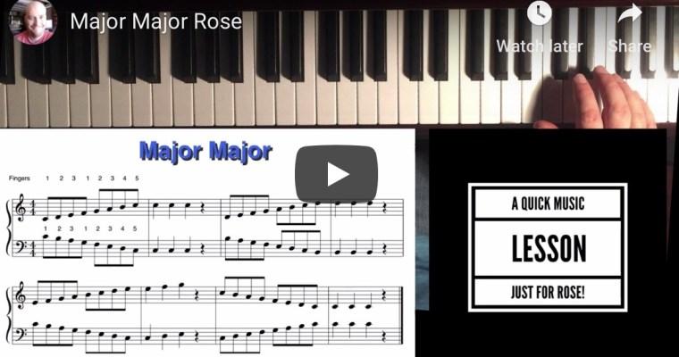 Lesson 1 Rose
