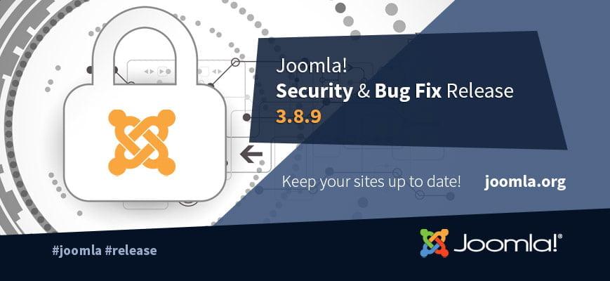 joomla 3.8.9
