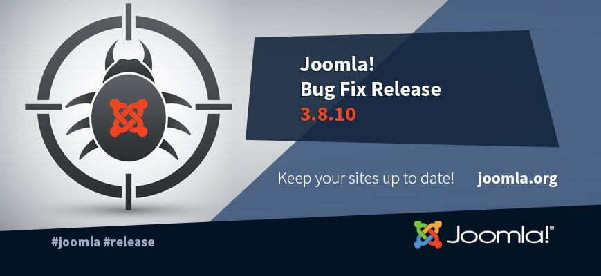 joomla 3.8.10