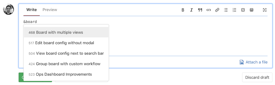 Autocomplete epic in issue and merge request