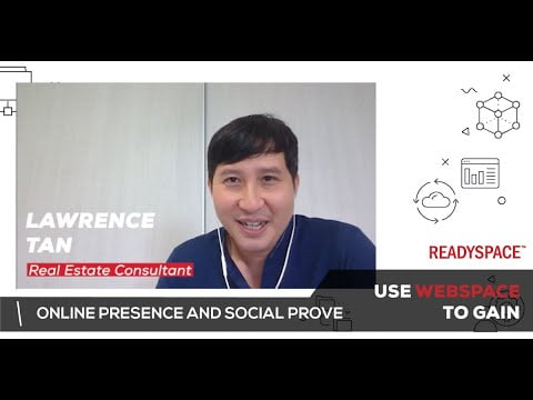Lawrence uses WebSpace to gain online presence and social prove