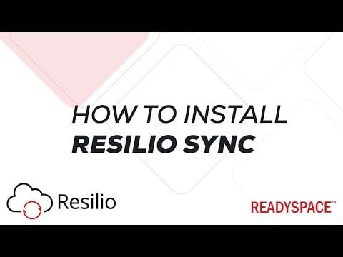 How to install Resilio Sync