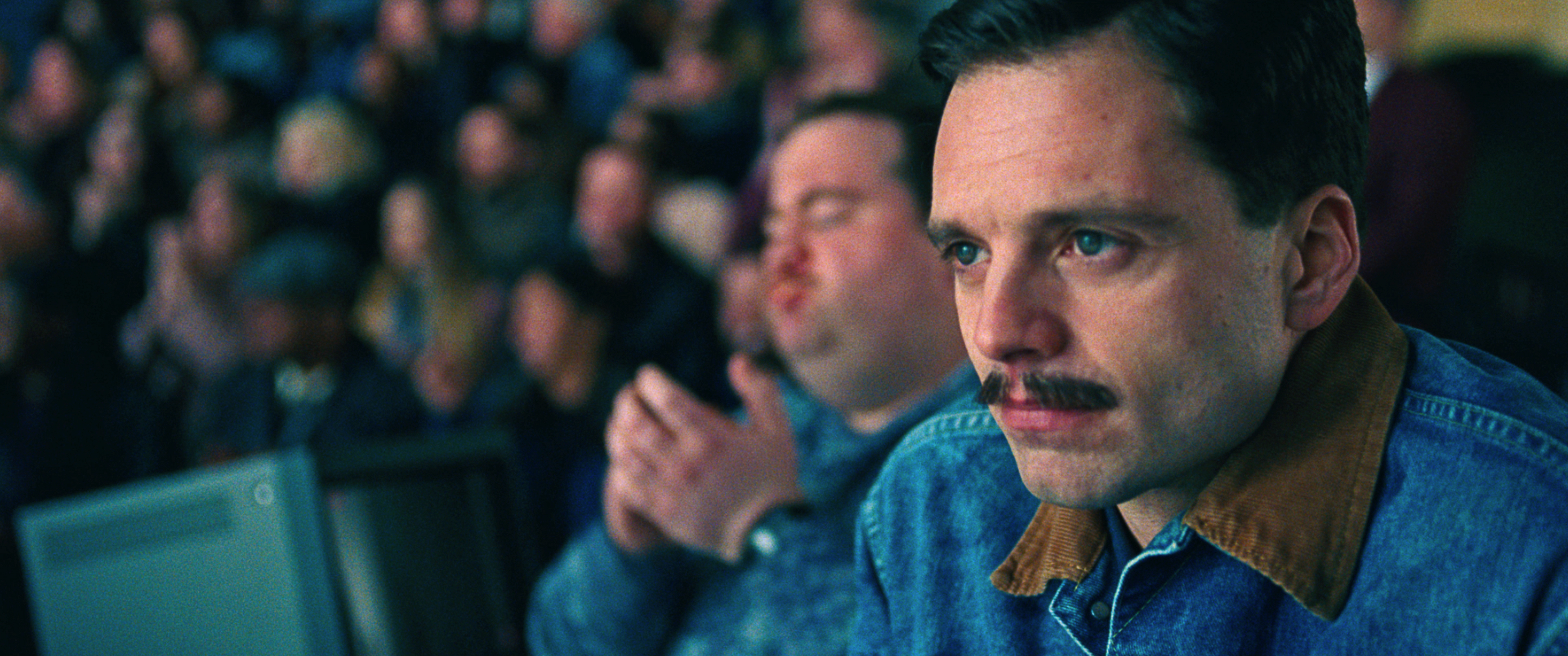 2- Jeff Gillooly (Sebastian Stan) watches a routine in I, TONYA, courtesy of NEON and 30WEST