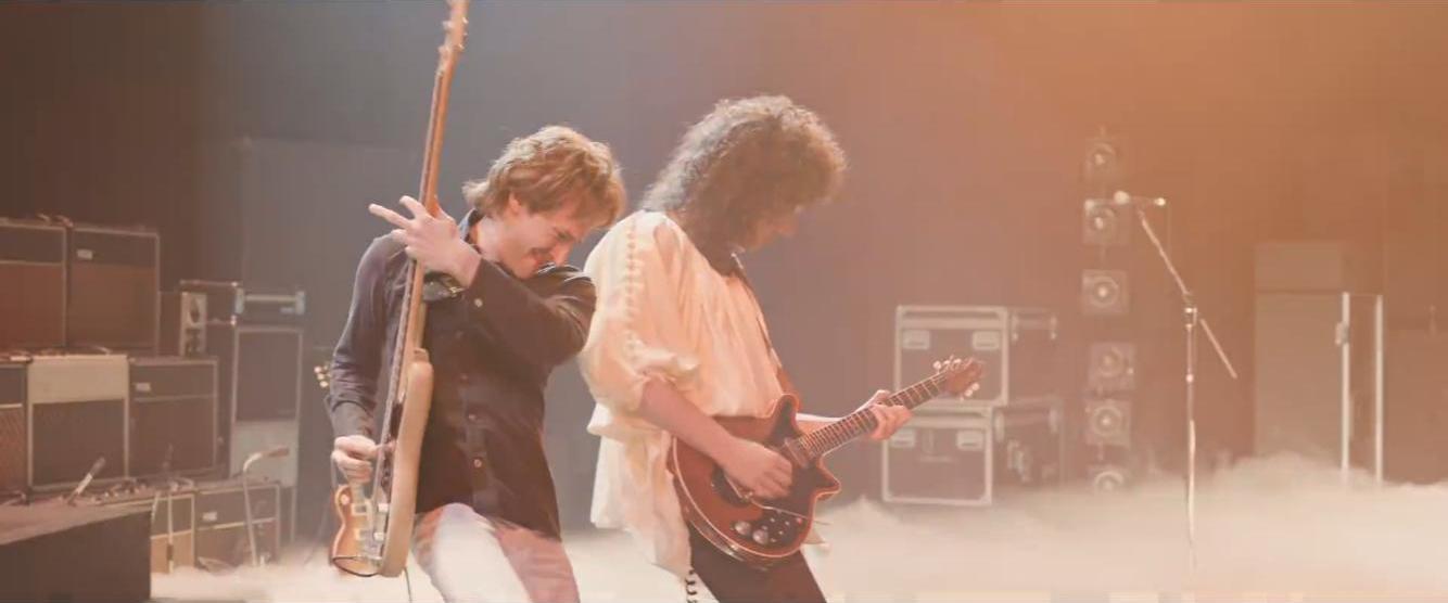 Bohemian Rhapsody - Joseph Mazzello and Gwilym Lee