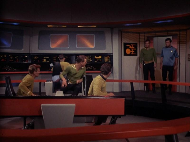 Enemy Within Kirk and Self Bridge