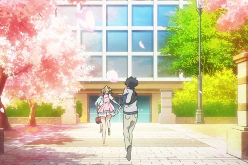 Cinematography in Your lie in April