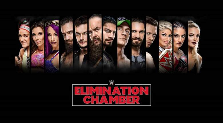 WWE Elimination Chamber 2018 - Preview