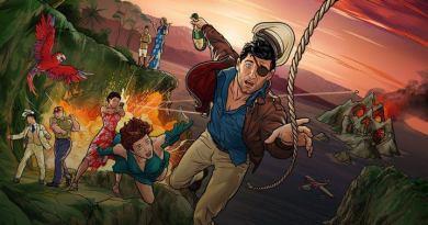 Archer Danger Island - Episode 4 - A Warrior in Costume