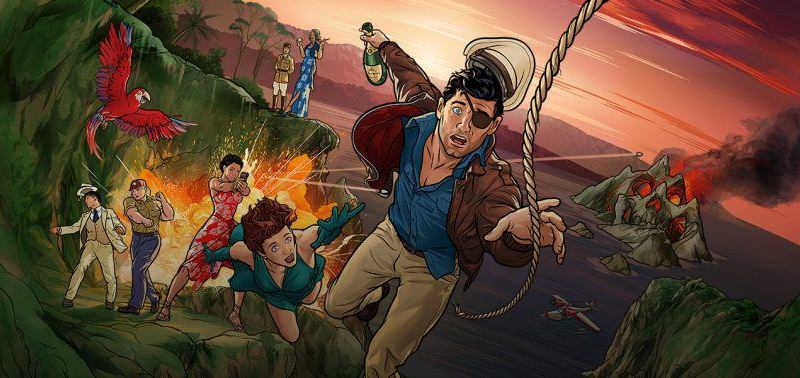 Archer Danger Island Episode 6 Review - Some Remarks on Cannibalism