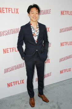 "LOS ANGELES, CA - AUGUST 09: Daniel Kang attends Netflix's ""Insatiable"" Premiere And After Party on August 9, 2018 in Los Angeles, California. (Photo by Rachel Murray/Getty Images for Netflix) *** Local Caption *** Daniel Kang"