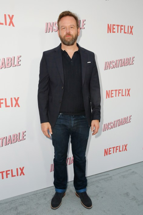 "LOS ANGELES, CA - AUGUST 09: Dallas Roberts attends Netflix's ""Insatiable"" Premiere And After Party on August 9, 2018 in Los Angeles, California. (Photo by Rachel Murray/Getty Images for Netflix) *** Local Caption *** Dallas Roberts"