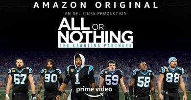 Documentary series All or Nothing: Carolina Panthers - Amazon Original Series