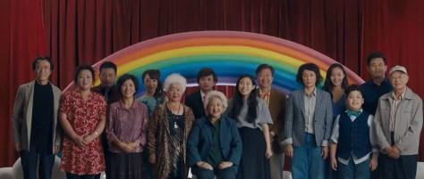 De cast van The Farewell recensie