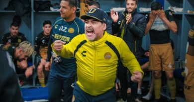 Netflix Series Maradona in Mexico