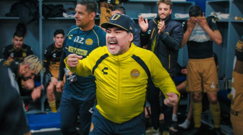 Netflix Series Maradona in Mexico