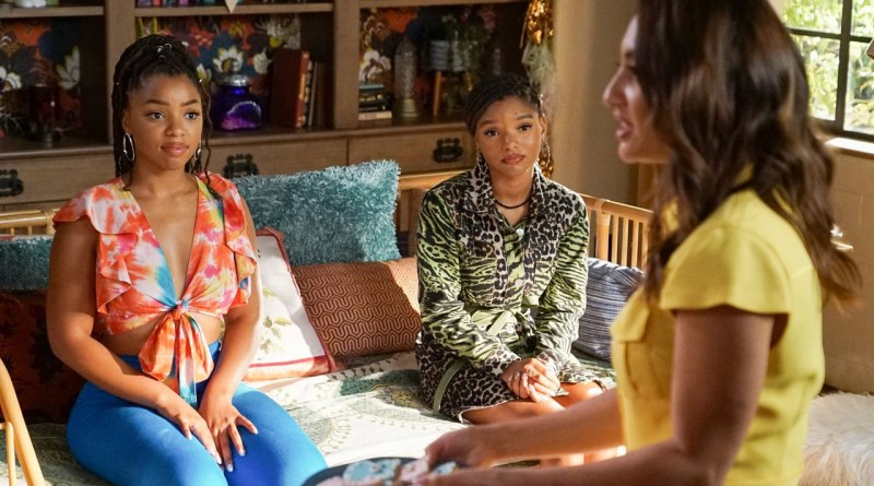 Grown Ish Season 3 Episode 5 Jazz, Sky, and Ana