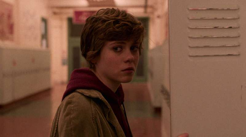 Sydney played by Sophia Lillis in Netflix series I Am Not Okay With This season 1