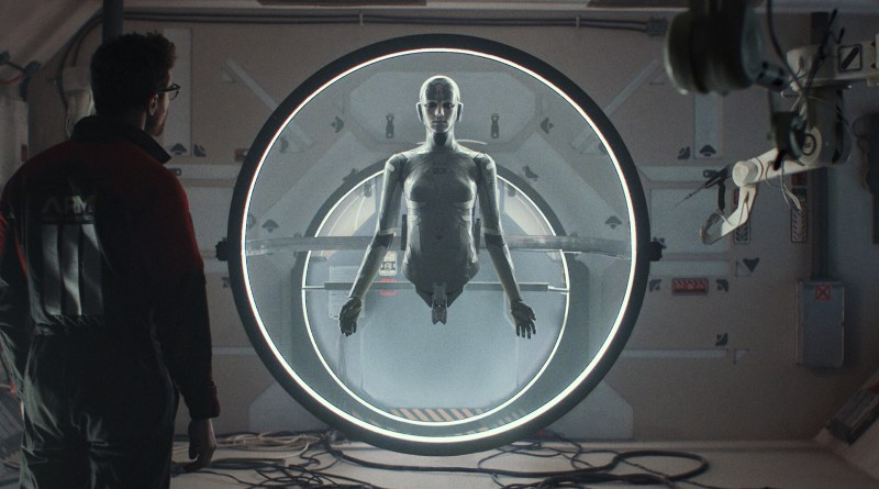 Archive review - a stylish and unhurried sci-fi film about consciousness and grief