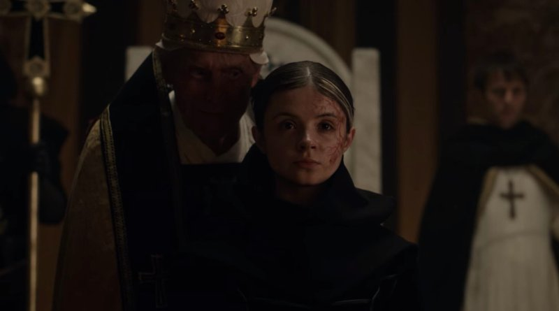 Netflix series Cursed season 1, episode 10 - The Sacrifice