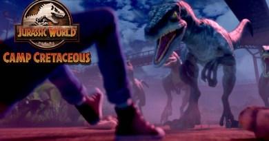 Netflix series Jurassic World: Camp Cretaceous season 1, episode 3 - The Cattle Drive