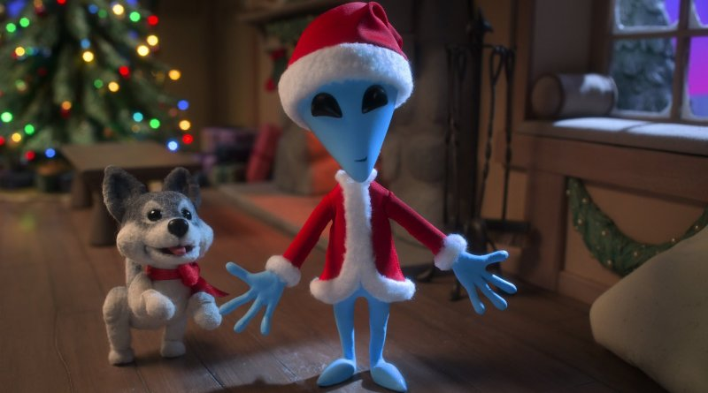 Netflix film Alien Xmas