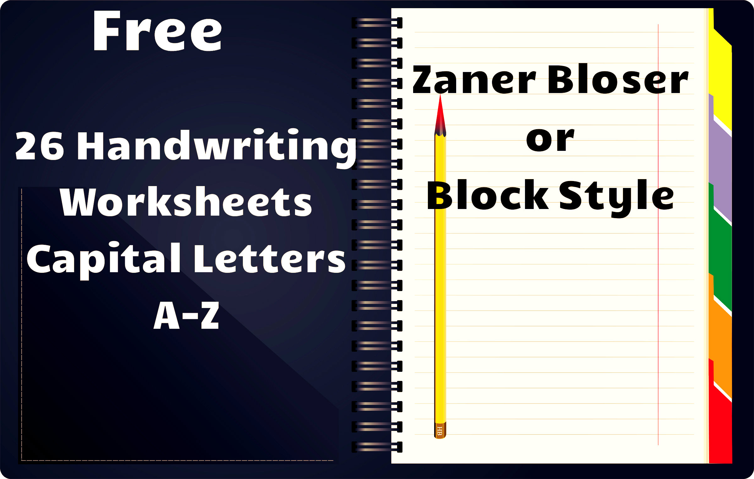 Free Handwriting Worksheets A Z
