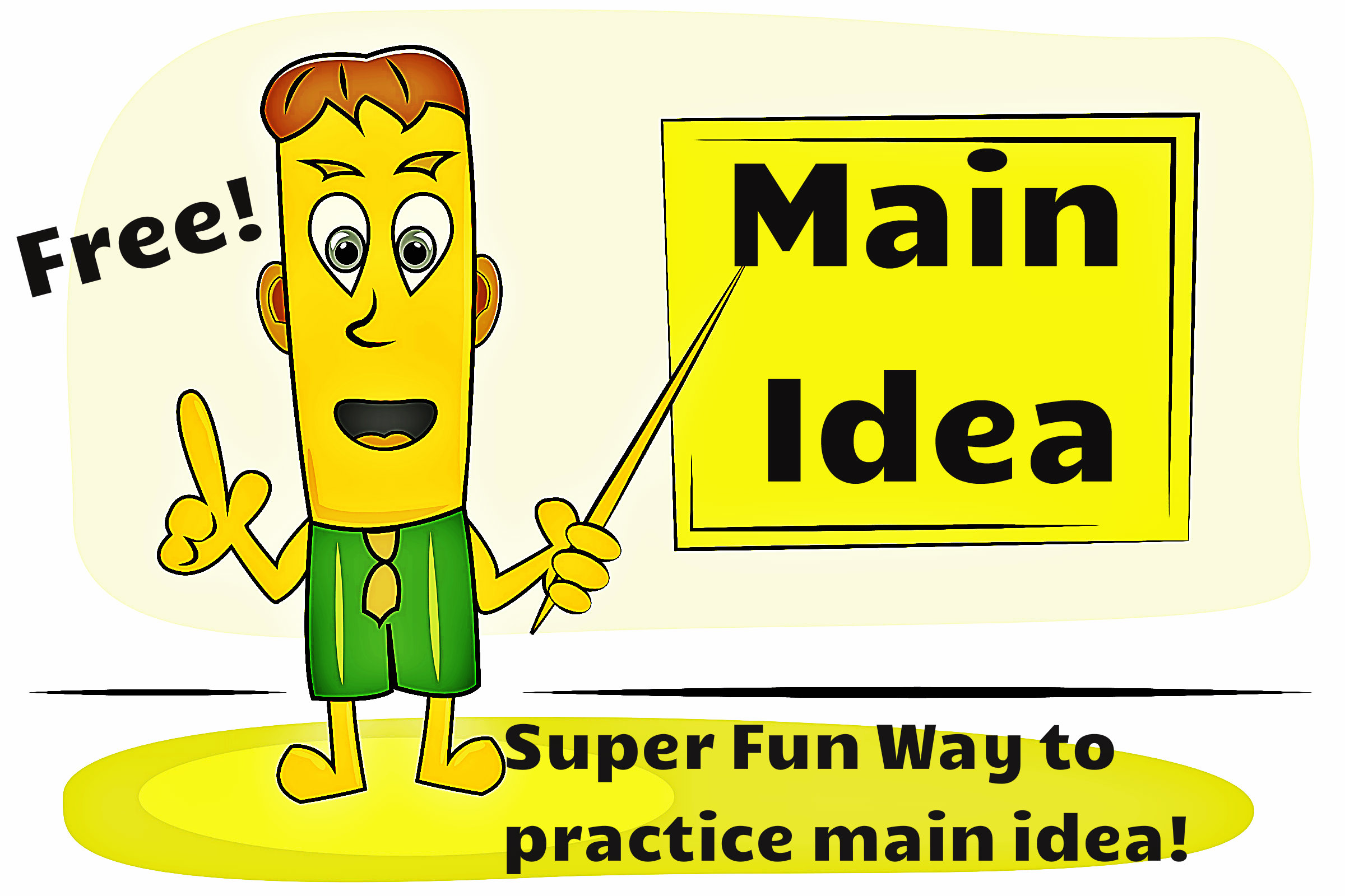 Fun Main Idea Worksheet Kindergarten