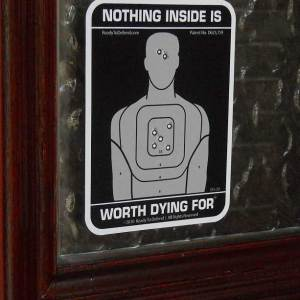 3-Pack - Nothing Inside Worth Dying For Decals - FREE SHIPPING-0