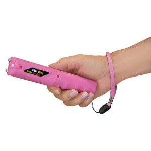 Zap Stick Stun Gun/Flashlight - 800,000 Volts Pink ZAPSTK800FPK-0