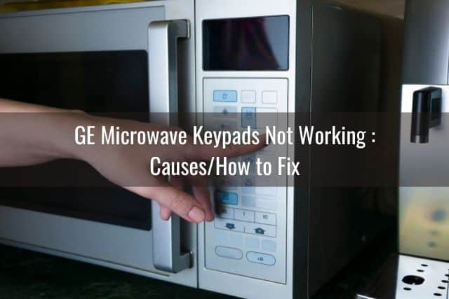 ge microwave keypads buttons display